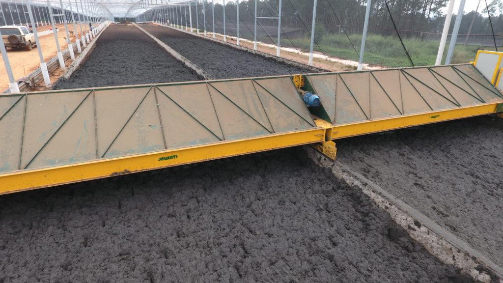 Sistema de Secagem de Resíduos Orgânicos em Porto Feliz/SP